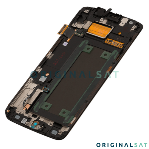 FULL SCREEN LCD ORIGINAL SAMSUNG GALAXY S6 EDGE G925F BLACK GH97-17162A