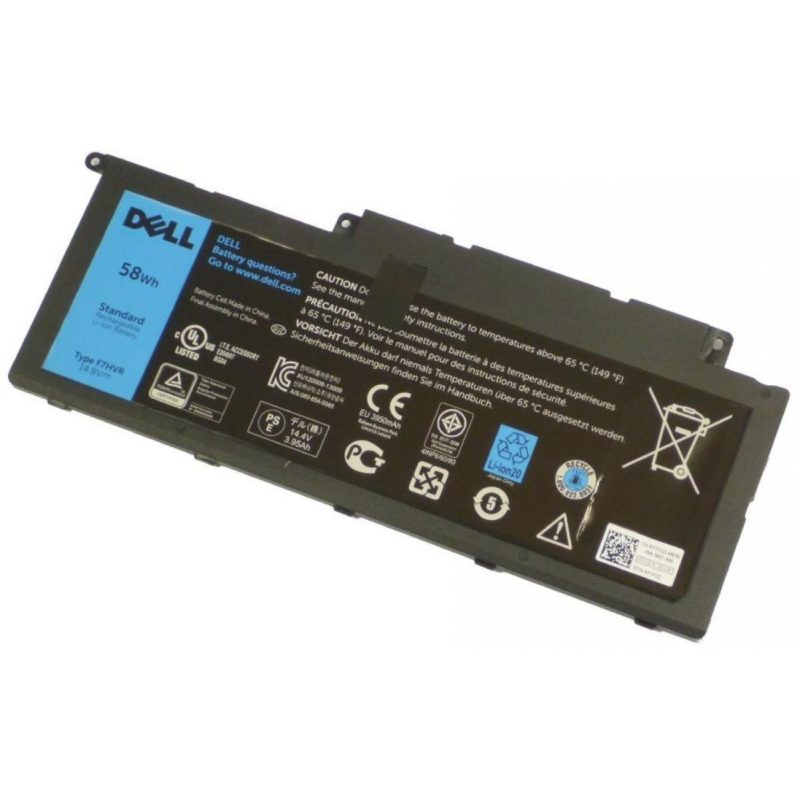 DELL 62VNH refacci?n para notebook Bater?a - repuestos moviles originales -1