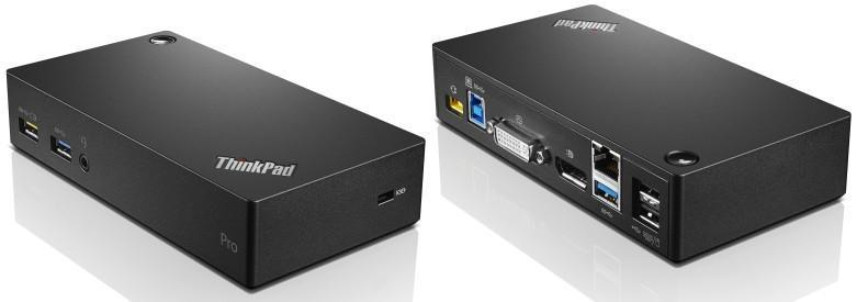Lenovo ThinkPad USB 3.0 Pro Dock USB 3.0 (3.1 Gen 1) Type-A Negro - repuestos moviles originales -1