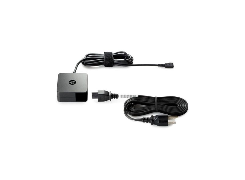 HP 45W USB Type-C AC adaptador e inversor de corriente Interior Negro - repuestos moviles originales -1