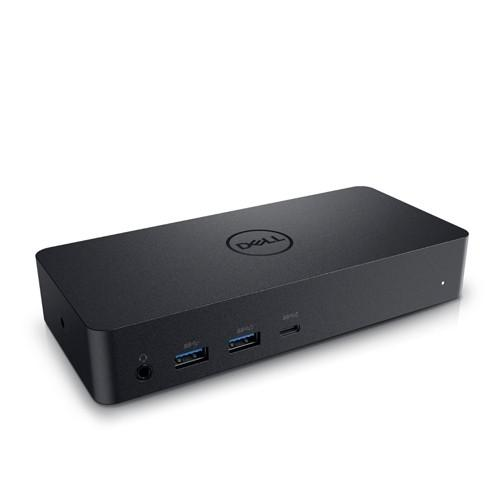 DELL D6000 base para port?til y replicador de puertos USB 3.0 (3.1 Gen 1) Type-C Negro - repuestos moviles originales -5