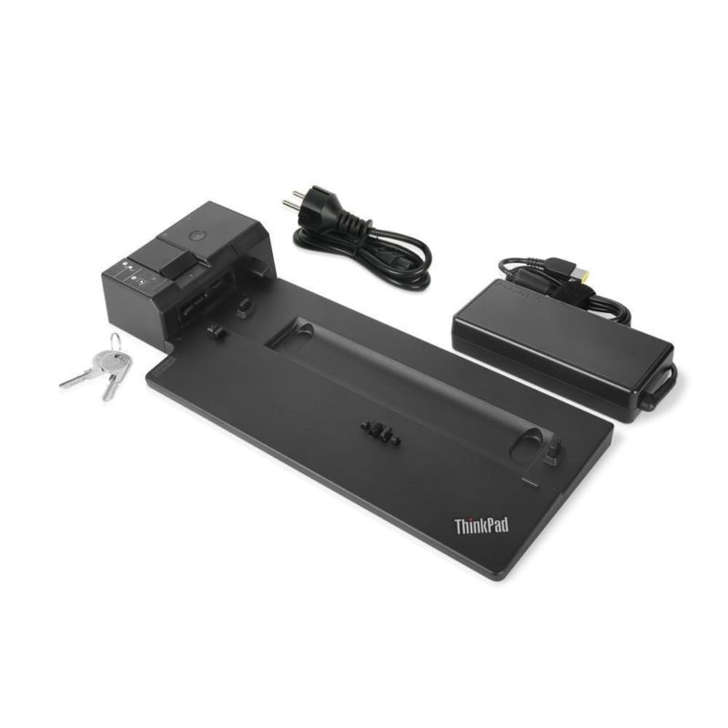 Lenovo 40AG0090DK base para port?til y replicador de puertos Negro - repuestos moviles originales -3