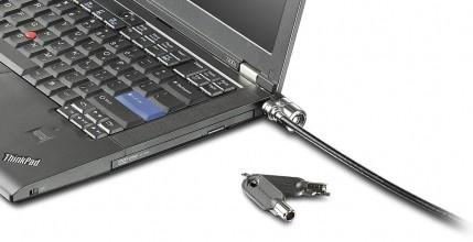 Lenovo Kensington MicroSaver Security Cable Lock cable antirrobo Negro 1 - repuestos moviles originales -2