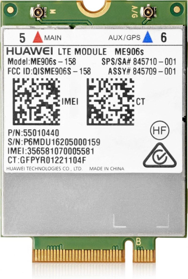 HP lt4132 LTE/HSPA+ 4G WWAN equipo de red 3G UMTS - repuestos moviles originales -1
